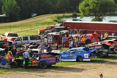 5-31-2014 Nonwing Sprint Cars I-35 Nicole Lee Dan Parkison photography