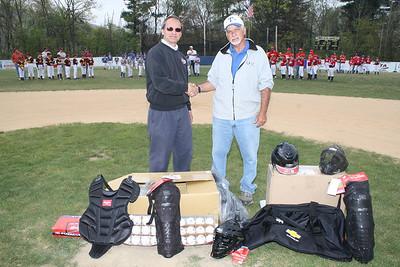 Fairway Motors Donates to Tamaqua Little League Baseball Association, Field, Tamaqua (4-21-2012)