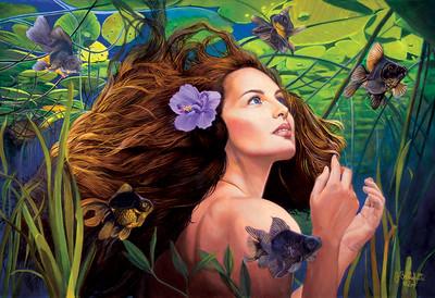 """""""Immersion"""" (oil) by Joseph Bellofatto"""