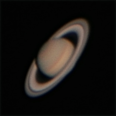 Saturn - 28/3/2014 (Processed stack)