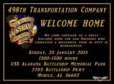 498TH WELCOME HOME