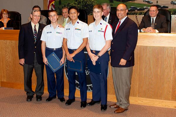 Veterans Day Awards 2009