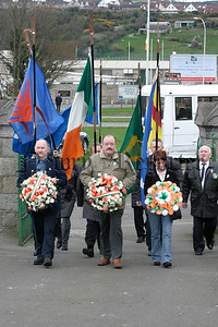 Official Republican Movement Easter Parade at St Marys Grave, 05W13N68.