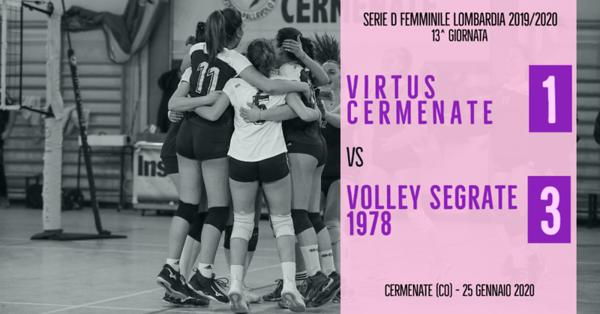 LOM-Df: 13^ Virtus Cermenate - Volley Segrate 1978
