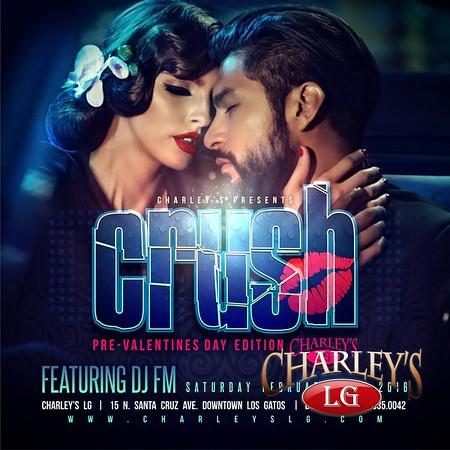 2016-2-13 CRUSH pre Valentine's Day Party with DJ FM!