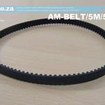 SKU: AM-BELT/5M/550, 550-5M Trapezoidal-Tooth Timing Belt, Closed-loop 5M Pitch Elastomeric Timing Belt 550mm Length