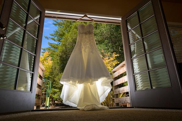 Details: Dress, Rings, Flowers, Etc.