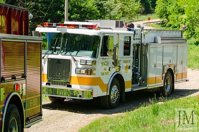 06-08-20 Conesville FD - Structure Fire