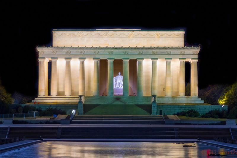 Lincoln Memorial January 31, 2018 - H2