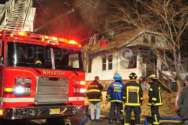 WHARTON, NJ 36 EAST UNION TPKE HOUSE FIRE 2/8/2009