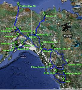 Pre Triumph Alaska Trip 2011