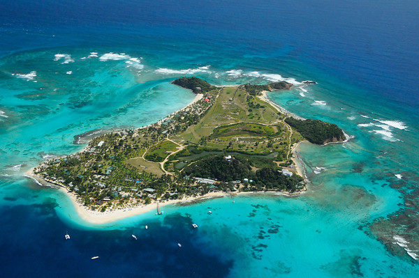 One of the islands of St Vincent and the Grenadines