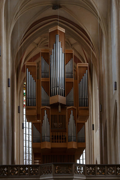 Pipe Organ - St. James Cathedral, Rothenburg,Germany