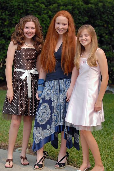 Lexi's Bat Mitzvah - Mackenzie, Megan, and Lindsay