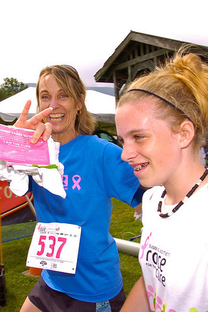 VT NH Race for the Cure 2008