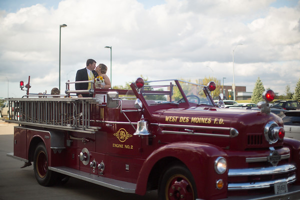 Riding the Fire Truck