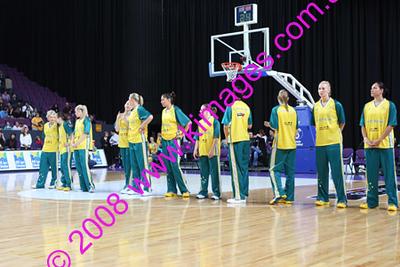 Opals Vs Brazil 30-7-08 - Game