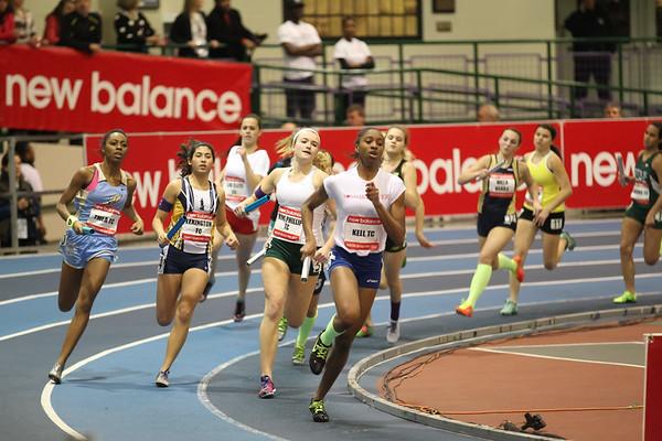 High School Girls 4x400m Relay