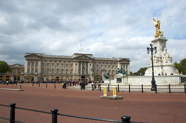 London - Buckingham Palace & Mall