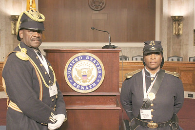 ARIZONA BUFFALO SOLDIERS, MESA.AZ.  ZERO Prostate Cancer, Capitol Hill, Washington, D.C.(Day 1)Congressional Reception invited Cmdr Marable and Deputy Cmdr Michelle London-Marable, Buffalo Soldiers of the AZ TRTY. Mar.16, 2015