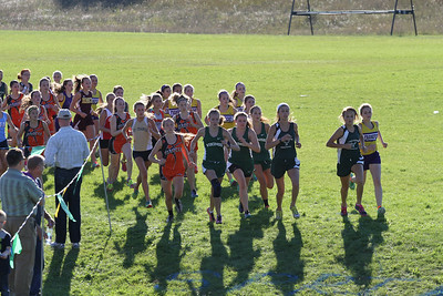 Kingsley XC Invite HS Girls Start