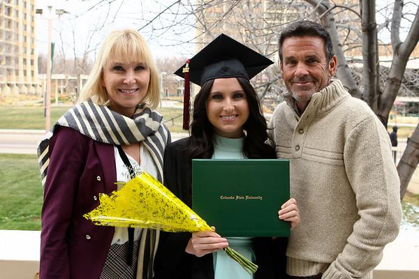2017 Taylor Flagg CSU Graduation 12/16/17