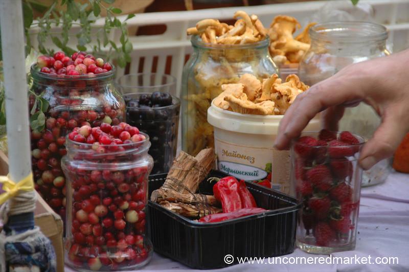 Berries, Mushrooms, Peppers - Vilnius, Lithuania