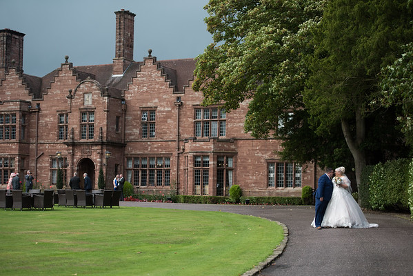 Lauren & James, Wrenbury Hall wedding photography