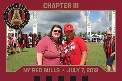 ATL United vs NY Red Bulls - AmFam Fan Village - 7/7/2019