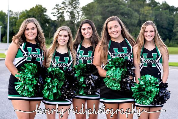 2018 EHS Sophomore Cheerleaders