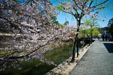 Kurashiki, Okayama - April 8, 2010