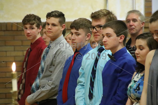 8th grade promotion mass . 5.24.18