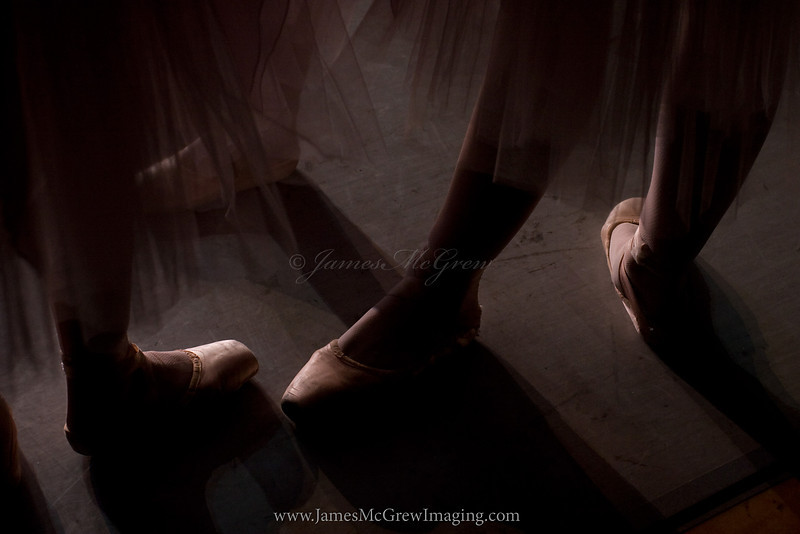 Ballet Backstage Abstract
