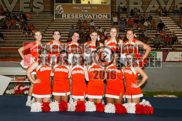 Boone JV Cheer - 2016
