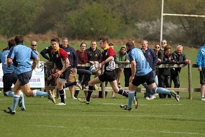 Rugby Surrey v Sussex 28 04 13