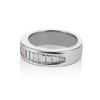 1.00ctw Baguette Half Eternity Band 1