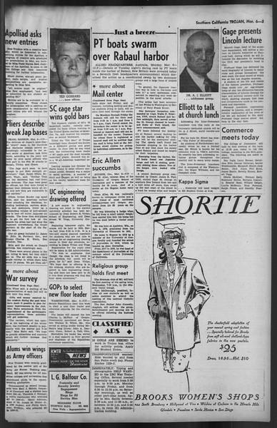 The Trojan, Vol. 35, No. 89, March 06, 1944