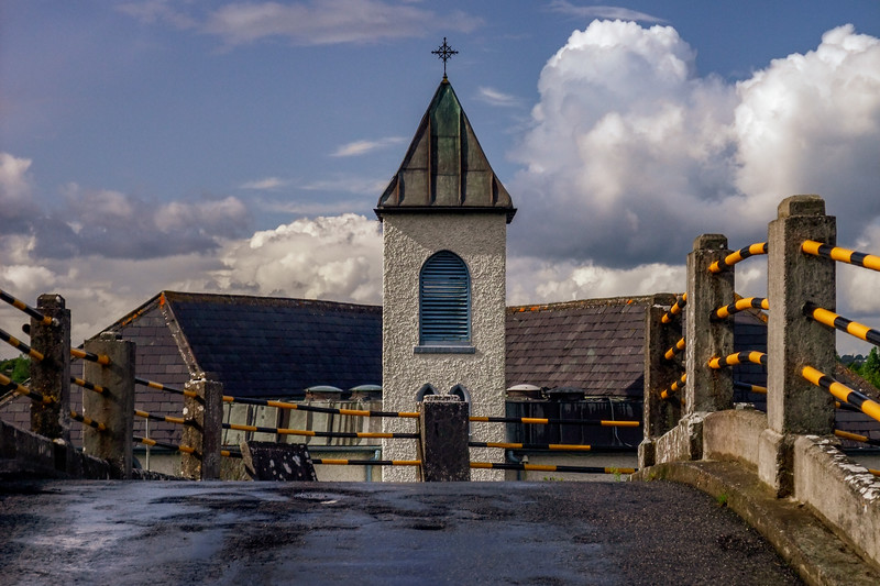St. Mary's Church and Plunkett Bridge, Pollagh, County Offaly