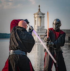 Sabre fighting - Rutland water
