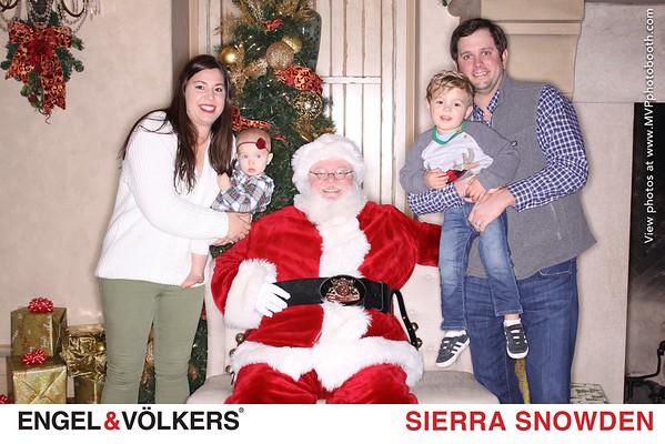 Engel & Völkers Santa Photos - Sierra Snowden Agent