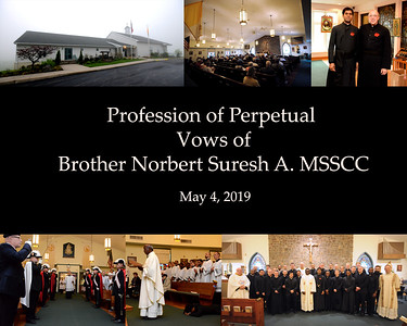Brother Norbert Vows Ceremony