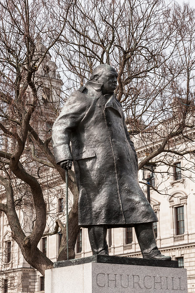 Parliament Square Garden - Winston Churchill