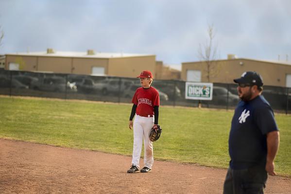Martin's Baseball Game - April 2013