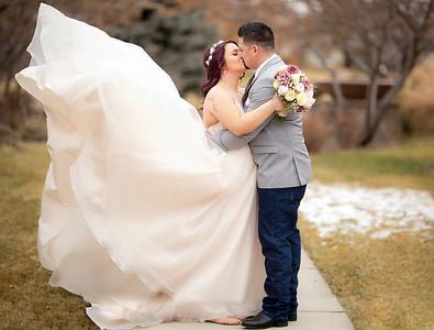Nic and Samantha Wedding Ceremony and Reception at Hazelwood Village in Boise, Idaho