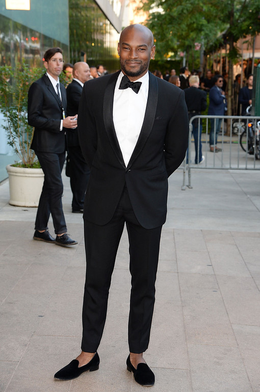 . Model Tyson Beckford attends the 2014 CFDA fashion awards at Alice Tully Hall, Lincoln Center on June 2, 2014 in New York City.  (Photo by Mike Coppola/Getty Images)