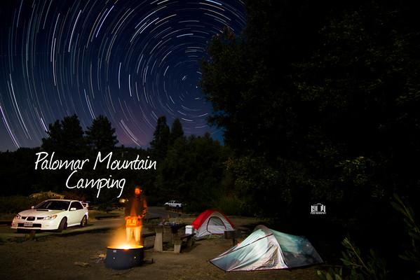Palomar Mountain Camping