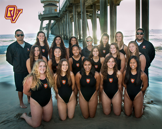 OVHS Girls Water Polo Team