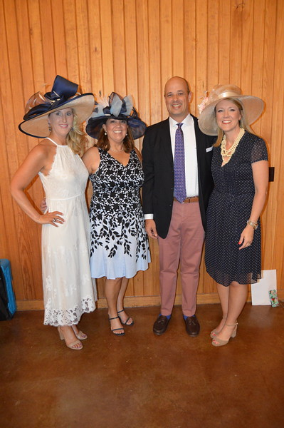 Tammy Stephens (Co-chair) Carol Johnston (Co-chair), Greg Hall, Frisa Hall (Honoree) 5.JPG