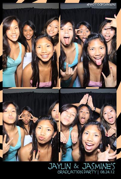 Jaylin & Jasmine's Grad Party (Photo Booth)