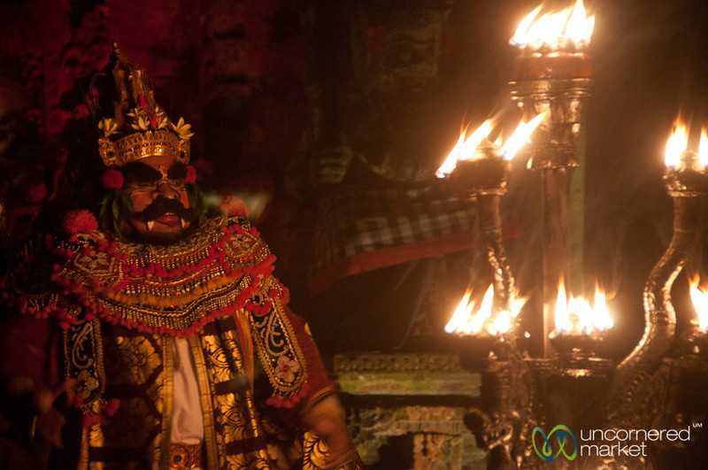 The Evil Giant at Kecak Show - Ubud, Bali